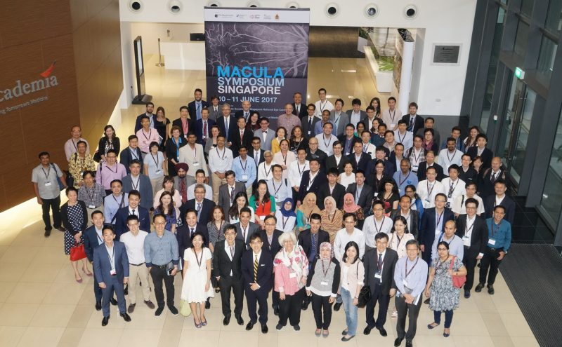 Group photograph of speakers and delegates at the Macula Symposium held from 10-11 June 2017 at The Academia, Singapore General Hospital.
