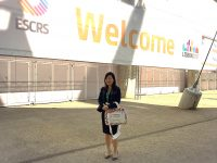 Dr Joy Chan attending the Annual Congress of the European Society of Cataract and Refractive Surgeons (ESCRS) 2017 in Lisbon, Portugal from 7-11 October 2017.