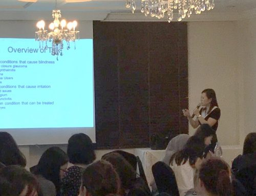 Dr Joy Chan Shares Management of Red Eye with Pharmacists
