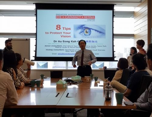 Dr Au Eong Kah Guan Shares 8 Tips on Vision Health on World Sight Day 2017