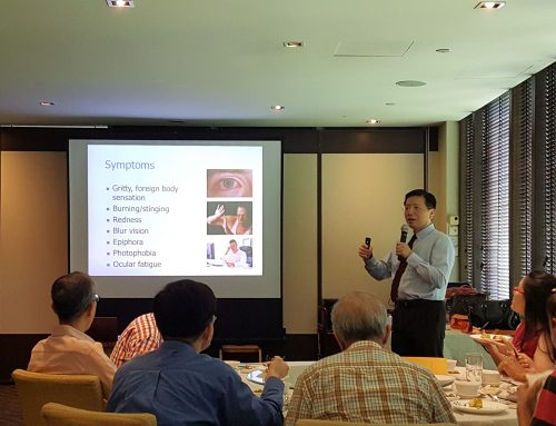 Dr Au Eong Kah Guan Shares Tips on Managing Common Eye Conditions with General Practitioners