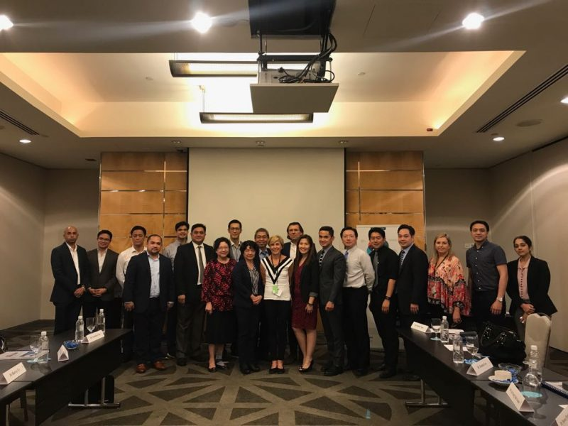 Speakers and attendees from around the region at the ARIA IV Experts Meeting on 9 June 2017 at the Pan Pacific in Singapore.
