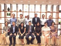 Group photograph of senior ophthalmologists from Singapore and Malaysia who participated in the first XEN User Group Meeting in the region at Oasia Hotel on 25 November 2017.