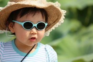 Wearing sunglasses and a brimmed hat reduce exposure to harmful ultraviolet rays which are associated with an increased risks of cataract, pterygium and age-related macular degenerationc