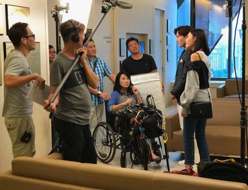 Mediacorp Shoots New Drama Series  in International Eye Cataract Retina Centre