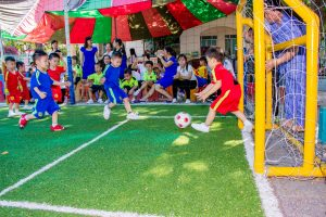 Sports-related eye injuries are common in children