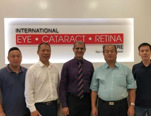 Visit by Eye Specialists from China to International Eye Cataract Retina Centre