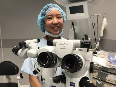 Elizabeth Ong Jia Li in the Day Surgery Suite at Farrer Park Hospital